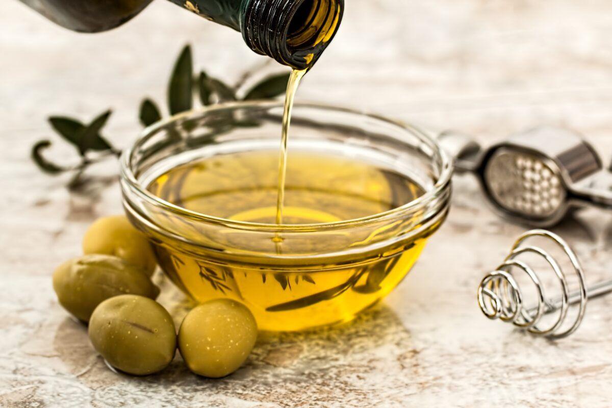 Aceite de oliva para perros